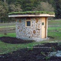Cordwood Sauna in British Columbia