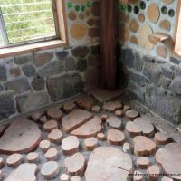 Cordwood Flooring DIY