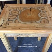 Cordwood Flooring Jig Saw Puzzle Method