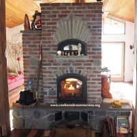 Masonry Heaters & Wood Stoves for Cordwood Homes