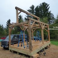 Cordwood Post & Pier Foundation