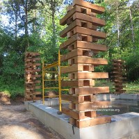 Cordwood Garden Shed Stackwall Style