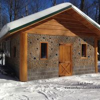 Cordwood Maple Sugar Shack is so Sweet