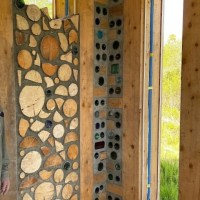 "Cordwood Home ""Bottlewood"" in Homer, Alaska"
