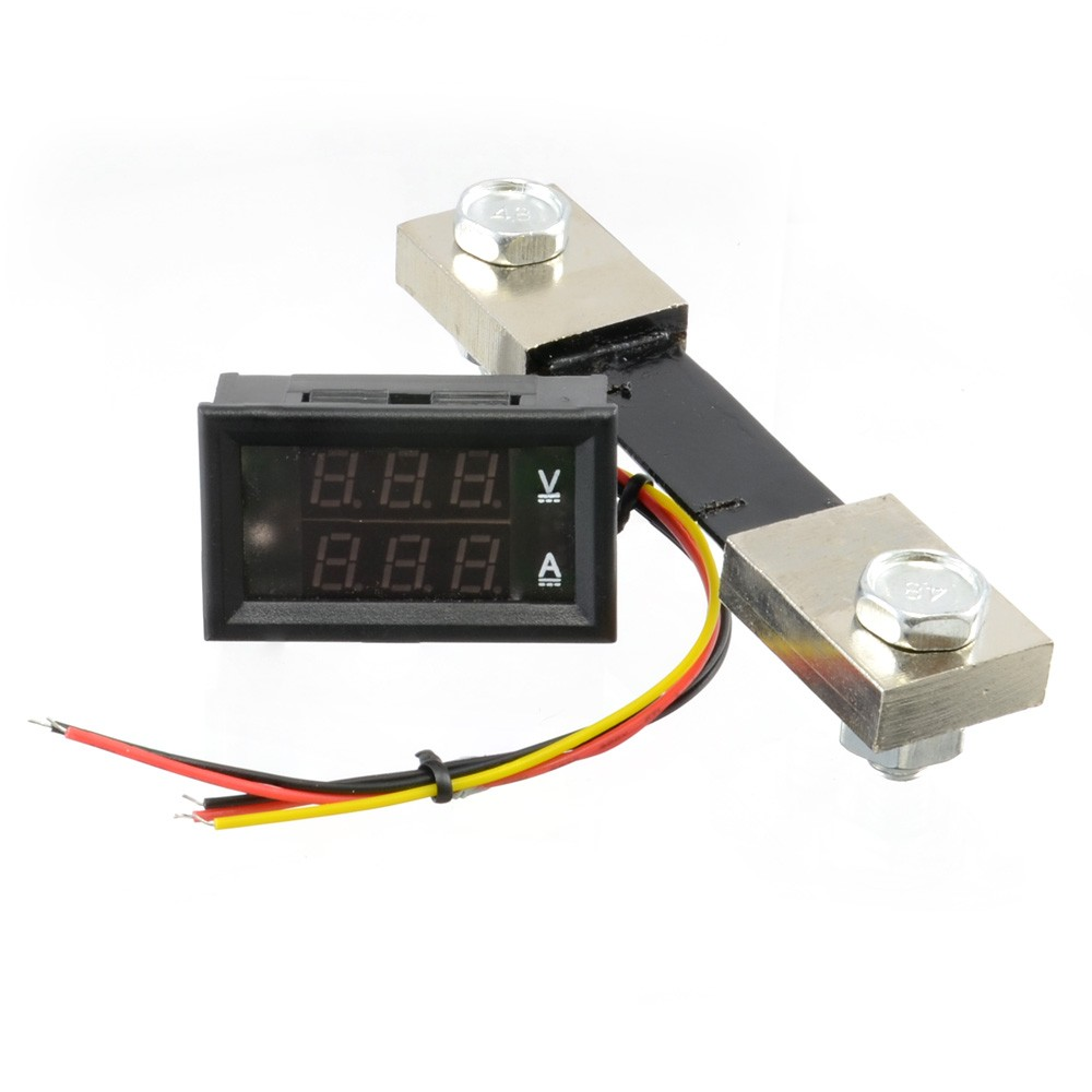 hight resolution of  dual digital display dc voltmeter ammeter 0 100v 0 100ace05132 thumbnail 5