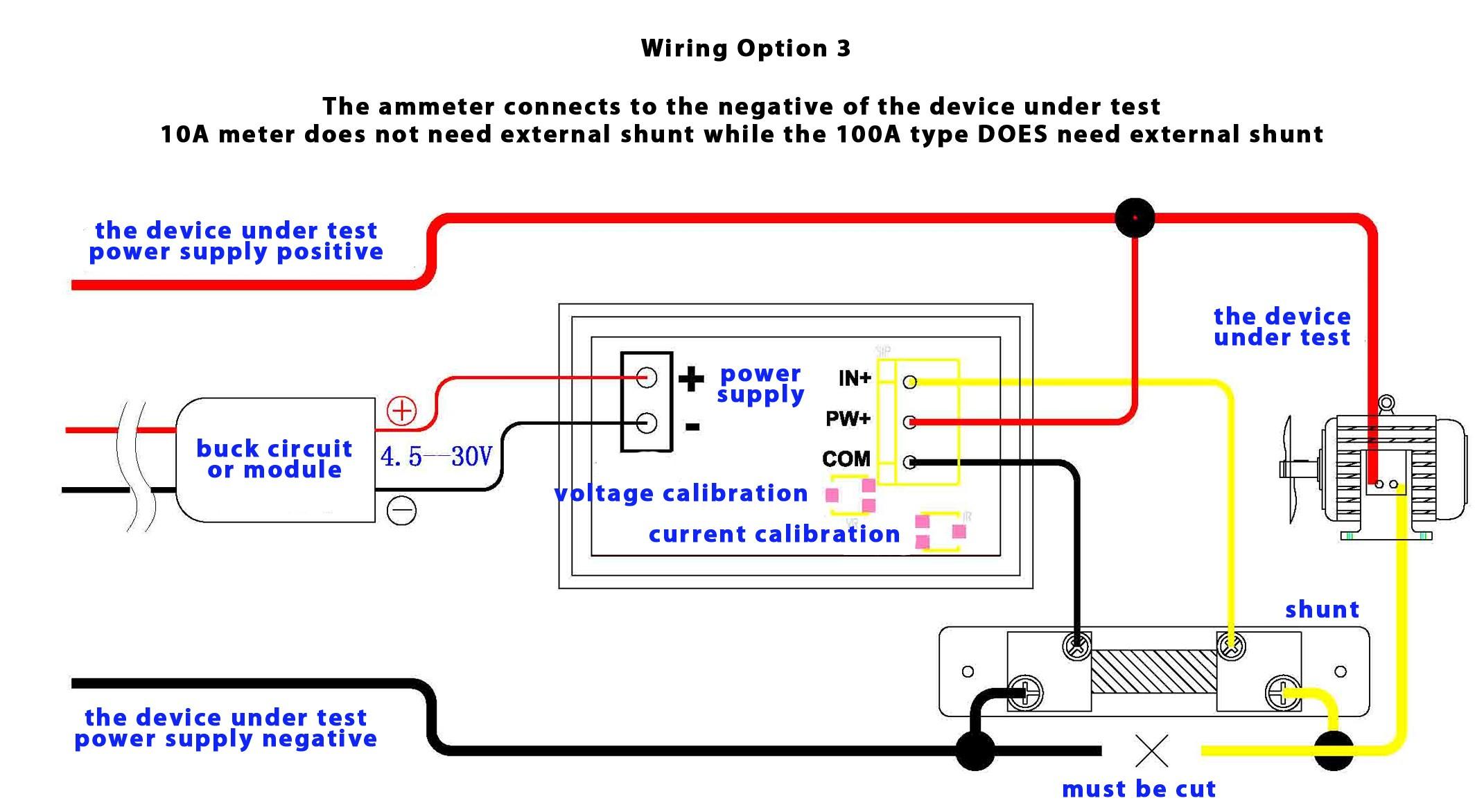 Dual Digital Display DC Voltmeter & Ammeter 0 100V 0 100A Australia