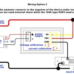 Voltmeter Wiring Diagram Kenwood Kdc 1028 Dual Digital Display Dc And Ammeter 100v 100a