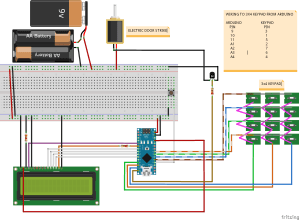 Projects  Keypad entry to caravan using Arduino Australia