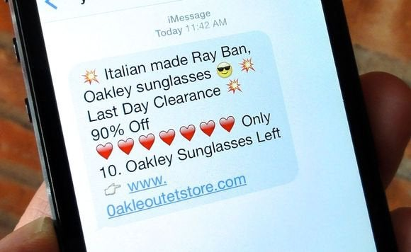 how to block sms spam