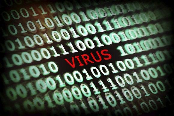 antivirus stock image