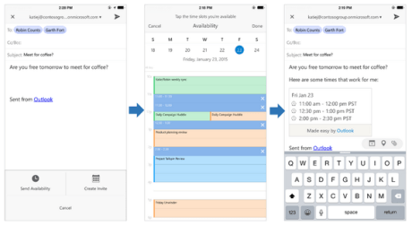 outlook mobile apps