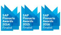 3 Pinnacle Awards