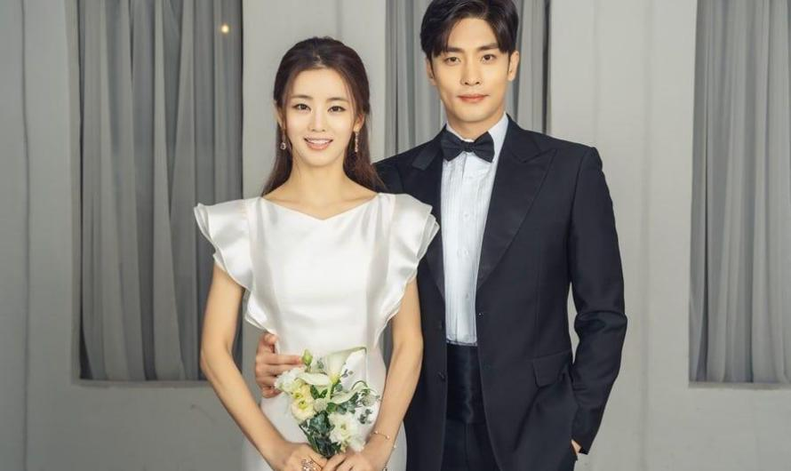 Sung Hoon e Lee Ga Ryung posam para fotos de casamento para o próximo drama