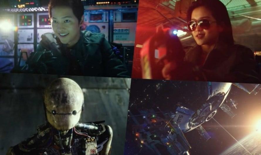 """SONG JOONG KI, KIM TAE RI E OUTROS NO IMPERDÍVEL TRAILER  DE """" SPACE SWEEPERS"""""""