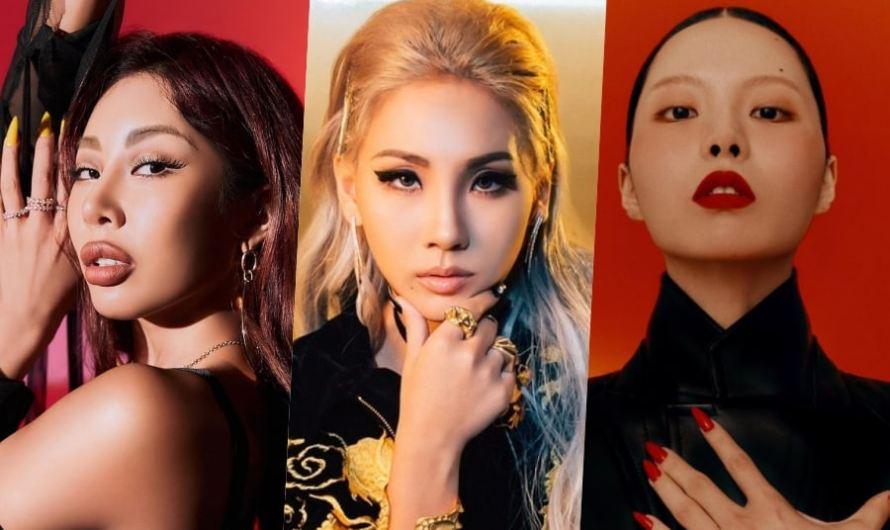 5 atos solos femininos coreanos que ousam ser diferentes
