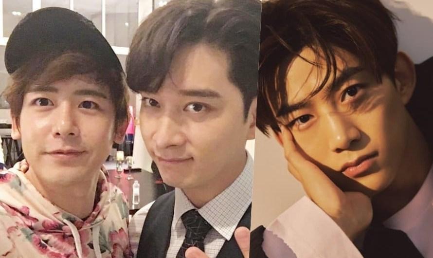 """Nichkhun e Chansung do 2PM se juntarão a Taecyeon em """"Vincenzo"""" para aparições especiais"""