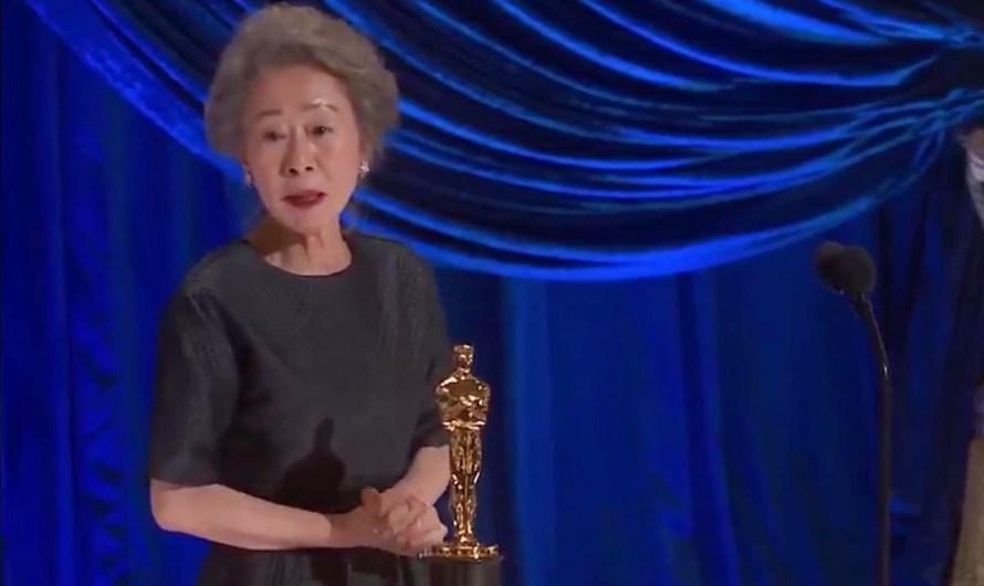 Youn Yuh Jung faz história como 1ª atriz coreana a ganhar no Oscar