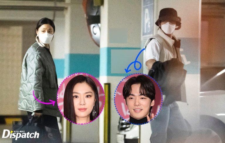 Dispatch revela que Seo Ji Hye e Kim Jung Hyun estão namorando há um ano
