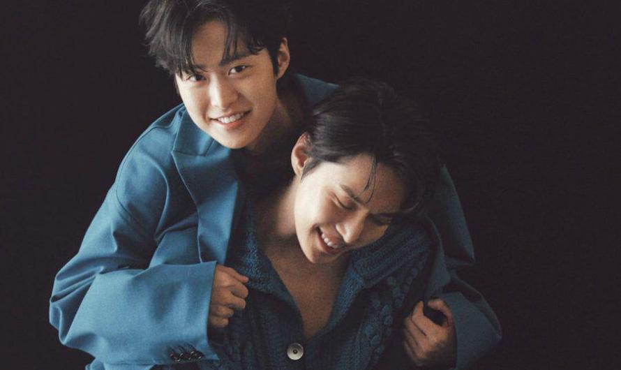Irmãos celebridades Gong Myung e Doyoung do NCT falam sobre sua infância e se vêem como colegas