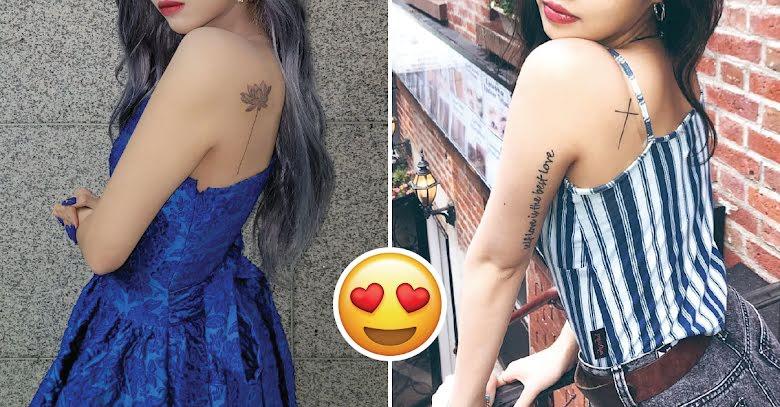Mais de 10 idols mulheres do K-Pop que não têm medo de exibir suas tatuagens