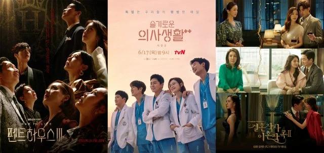 'The Penthouse 3', 'Hospital Playlist 2, 'Nevertheless', Dramas de um episódio por semana