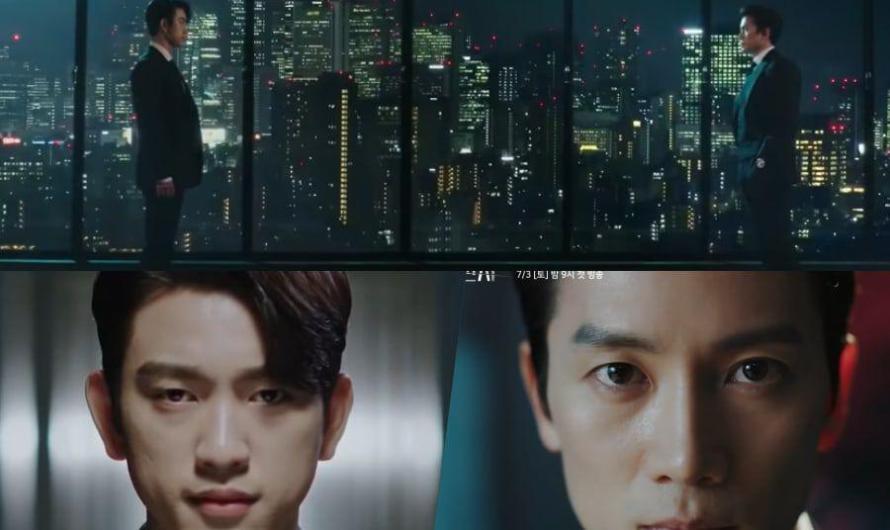 Ji Sung e Jinyoung do GOT7 têm duas opiniões muito diferentes sobre a lei no teaser de 'The Devil Judge'