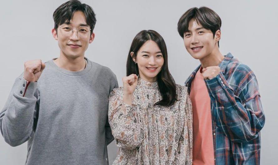 Shin Min Ah, Kim Seon Ho e Lee Sang Yi testam suas químicas na primeira leitura do roteiro para o novo drama Rom-Com