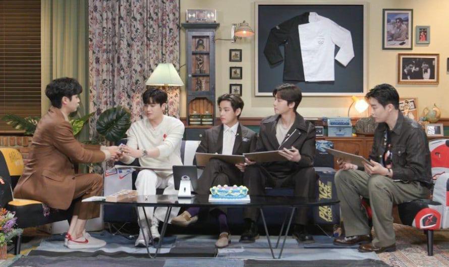 Park Seo Joon, V do BTS, Park Hyung Sik e Peakboy fazem aparição especial no encontro de fãs de Choi Woo Shik