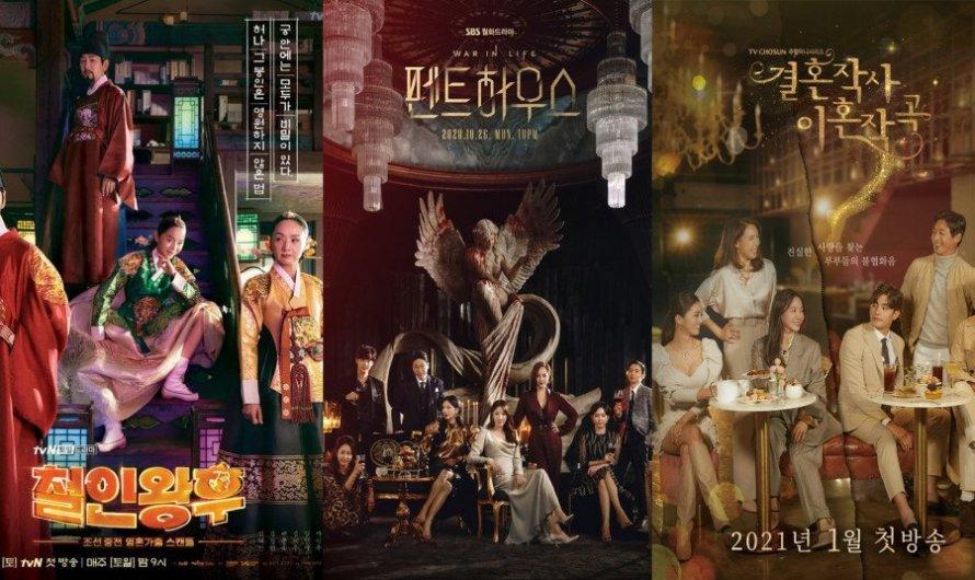 Os K-dramas que atingiram mais de 10% de audiência este ano