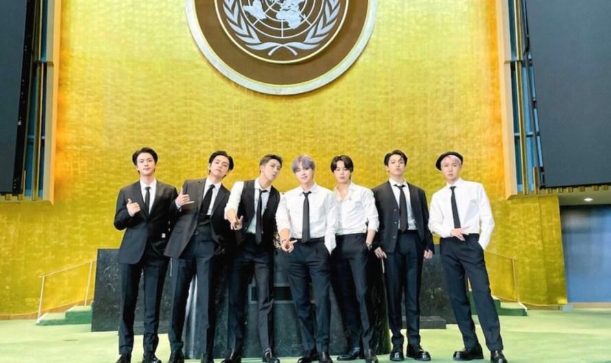 BTS compartilha mensagem de esperança para as futuras gerações em discurso na Assembleia Geral das Nações Unidas
