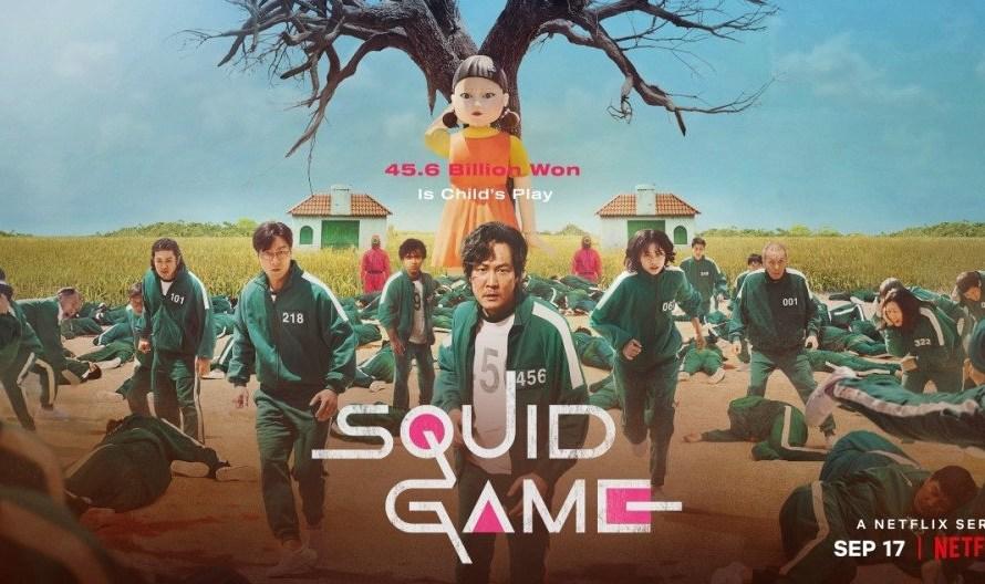 Squid Game alcançou o TOP 1 da Netflix Estados Unidos, se tornando o primeiro conteúdo coreano a alcançar a posição número 1.