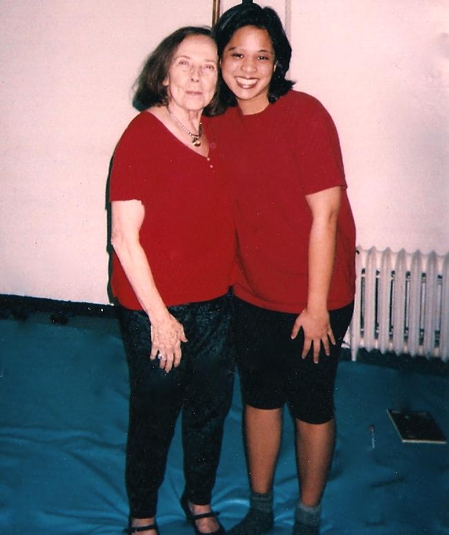 Sharmila and Romana. Copyright Core Arts Pilates. Pilates in Orange County, Pilates in Anaheim