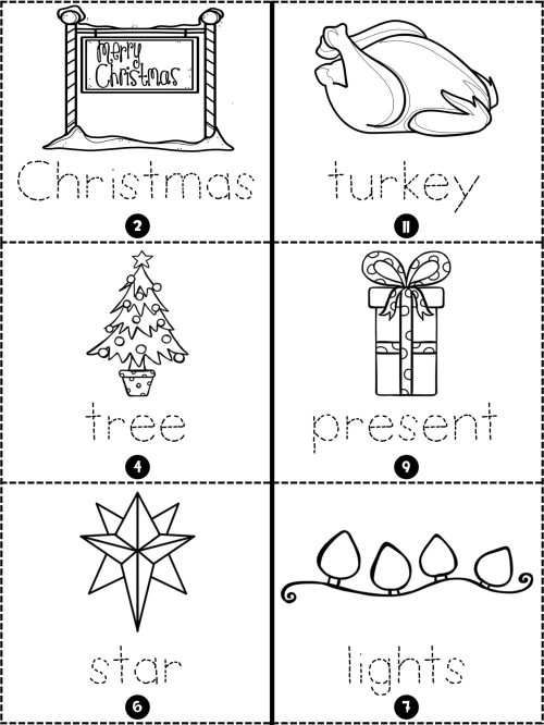 small resolution of Holiday Booklets   Christmas