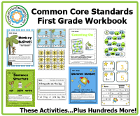 First Grade Common Core Workbook Download