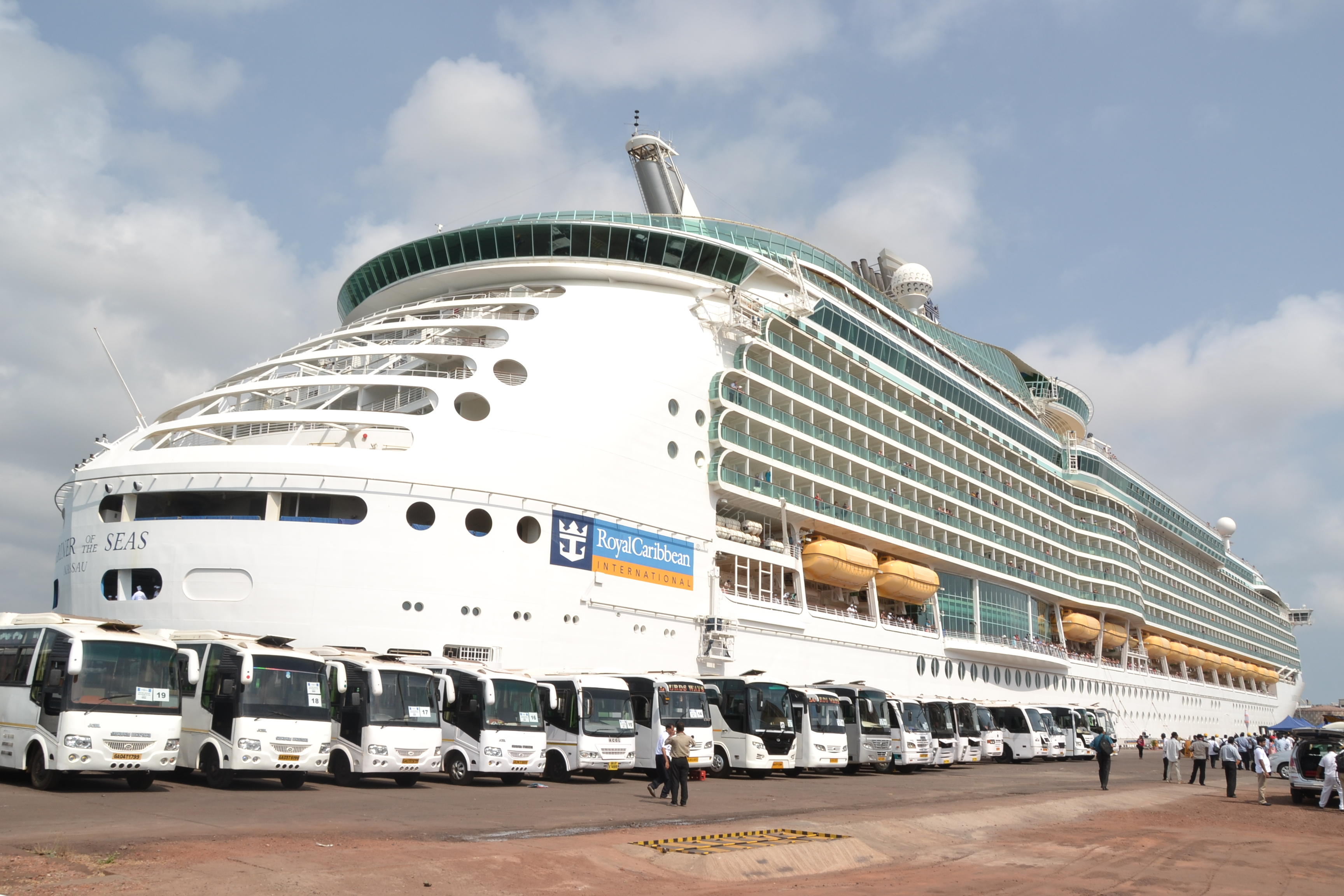 Goa Welcomes One Of The World S Biggest Cruise Liner