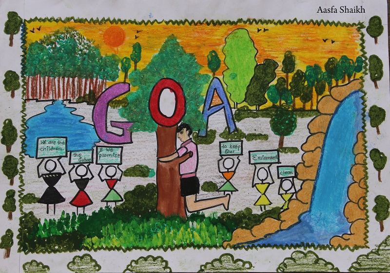 Winners Of World Environment Day Drawing Competition On June 05