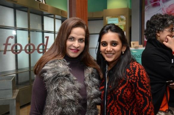 Ramola Bachchan and Avni Biyani