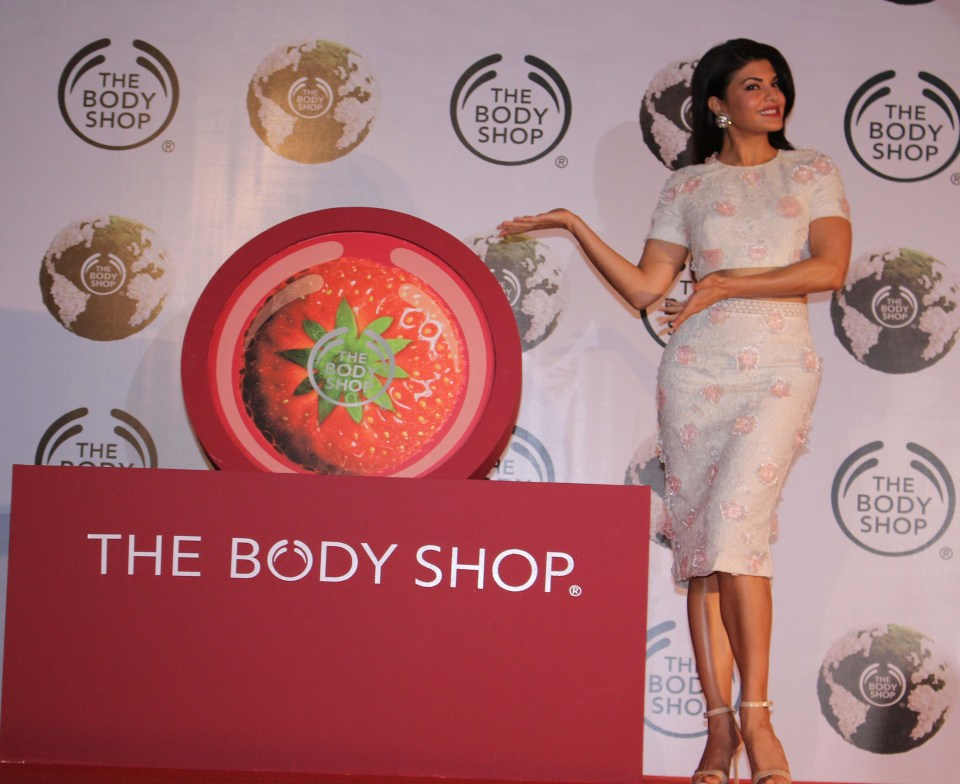 THE BODY SHOP INDIA names JACQUELINE FERNANDEZ as its new brand ambassador (2)
