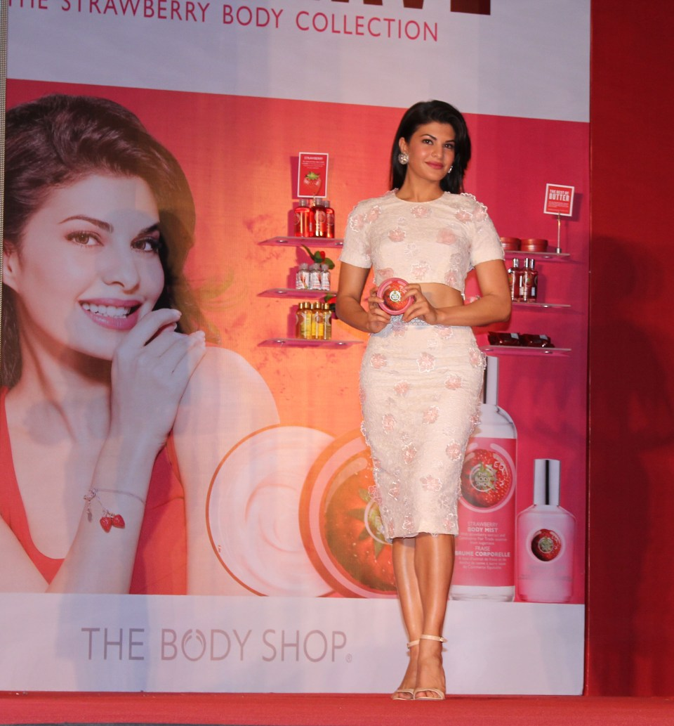 THE BODY SHOP INDIA names JACQUELINE FERNANDEZ as its new brand ambassador (3)