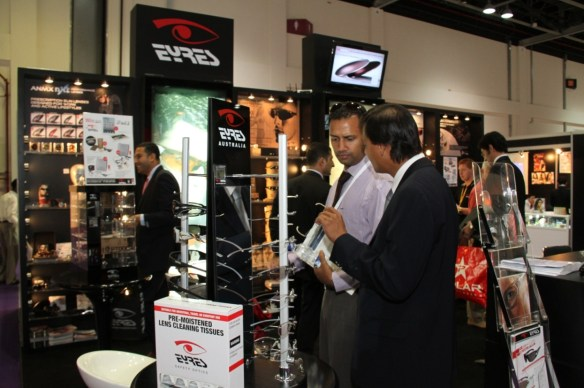 The latest optical trends at Vision-X Dubai 2014 at DWTC