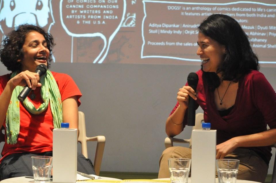 DOGS! Co-editors Manjula Narayan and Vidyun Sabhaney in conversation