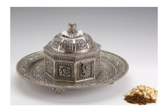 Rajput Box with Tray