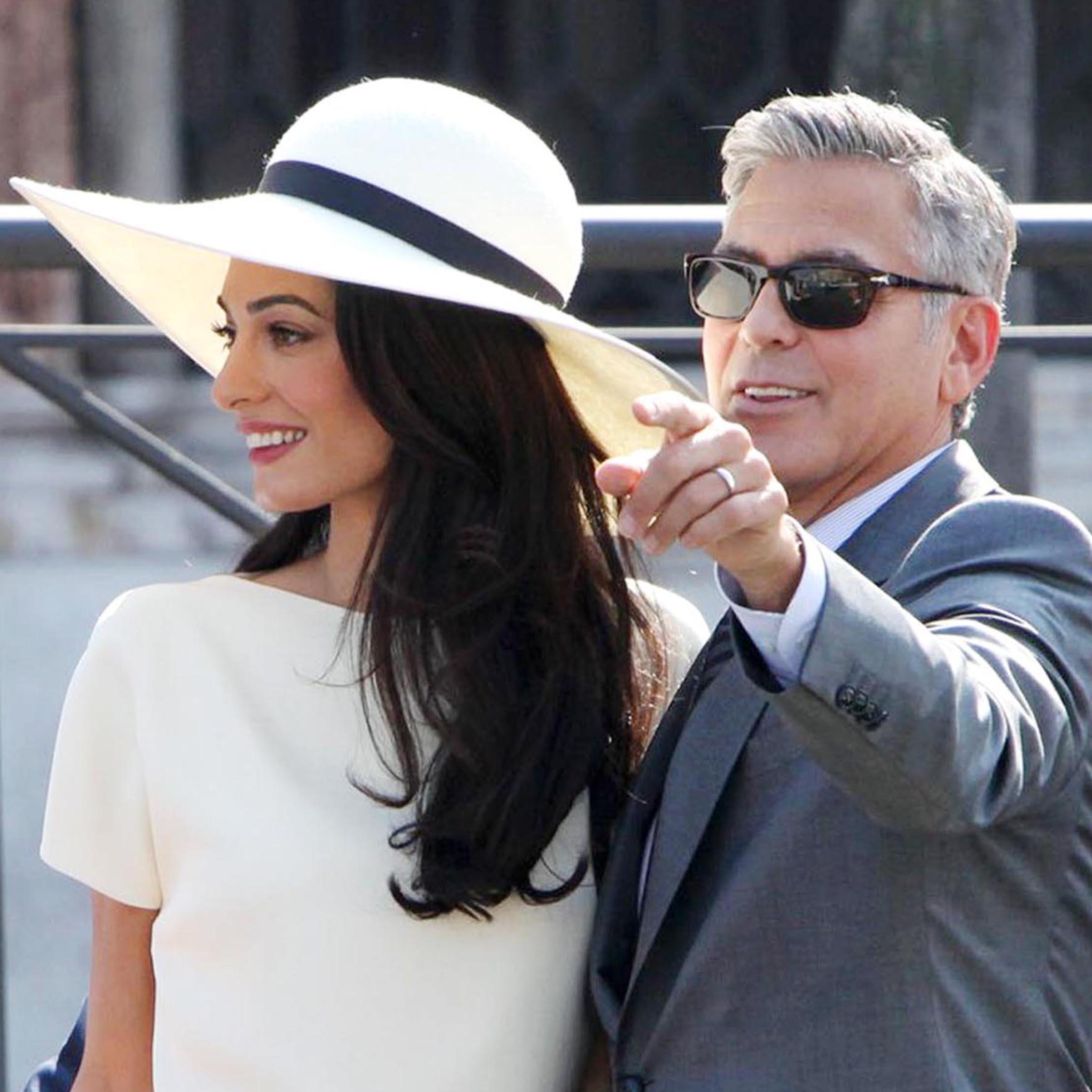 Hollywood Actor George Clooney and Amal Alamuddin's Platinum