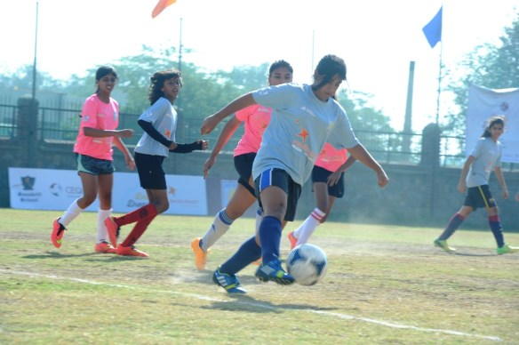 Delhi Dream Girls Football Tournament Finals organised by CEQUIN at sanskriti School_1