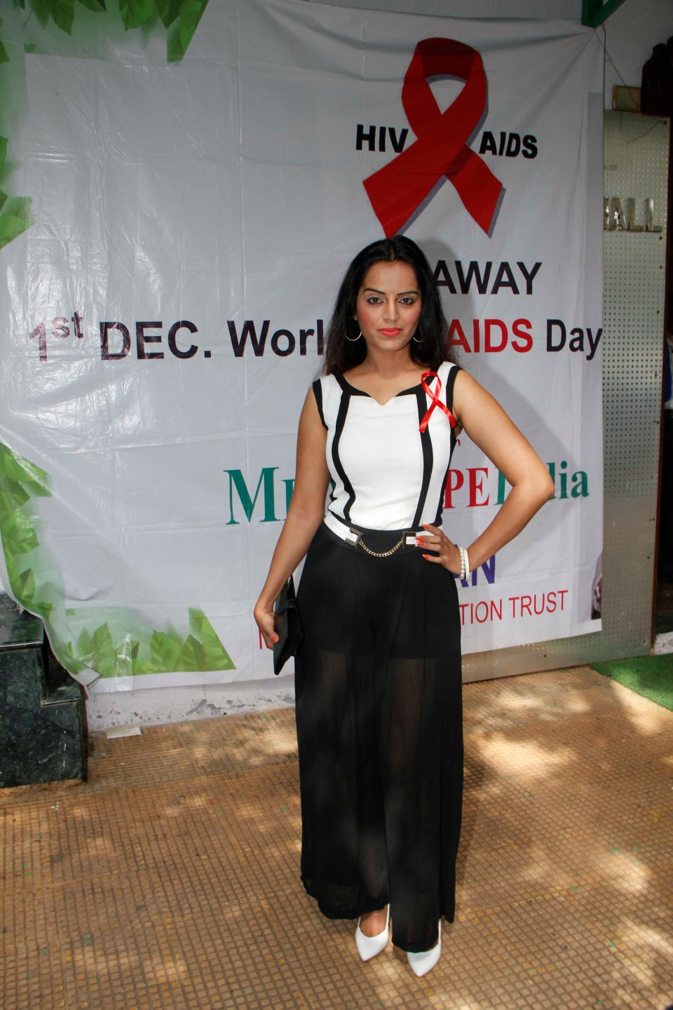 Meghna Patel At World AIDS Day Event..