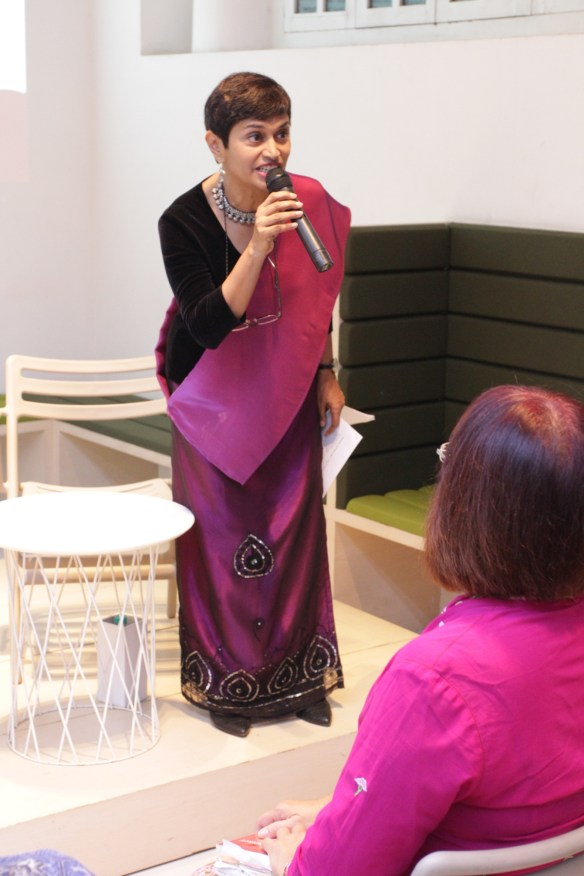 Rosemarie Somaiah  Singaporean storyteller and writer