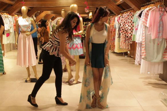 Client's trying on Sonam Parmar's collection at Amara copy