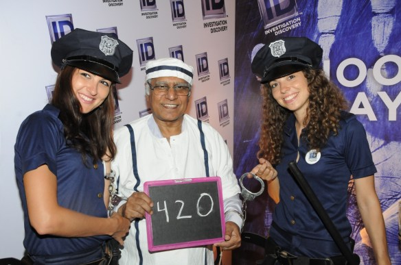 Pratap Bose at ID booth at Goafest 2015