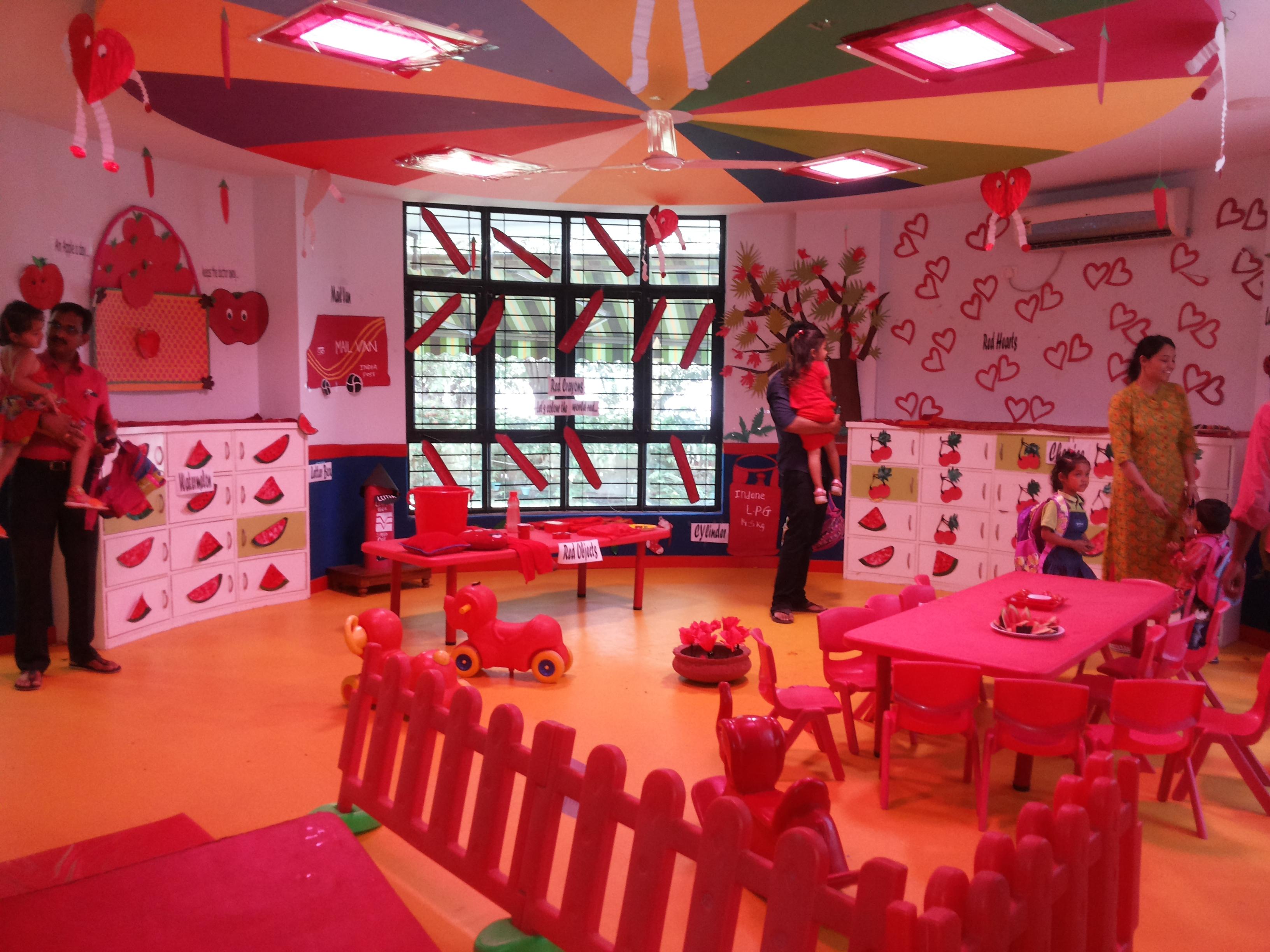 Sprouts Aakriti Pre School Celebrates Red Day