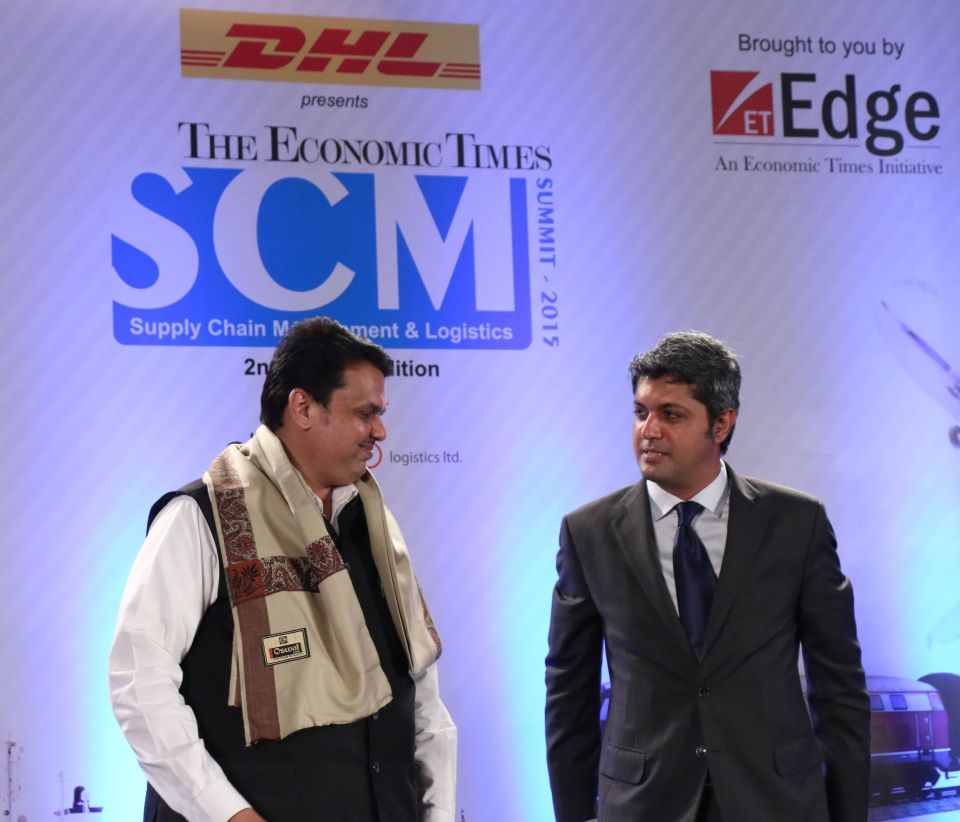 Devendra Fadnavis  Chief Minister  Maharashtra and Deepak Lamba  President TCL